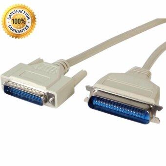 สายเครื่องพิมพ์ สายพาราเรียล Cable Parallel Printer สายใหญ่ DB25PRNTER CABLE 3M