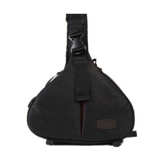 Caden K1 Waterproof Nylon Bag for DSLR Camera (Black) - intl