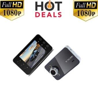Camera good itกล้องติดรถยนต์ HD Portable FULL HD1080 รุ่น K6000(black)1ชิ้น