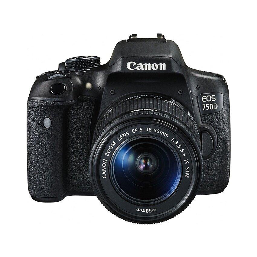 Canon กล้อง DSLR รุ่น EOS 750D kit EF-S 18-55 f3.5-5.6 IS STM (ประกันศูนย์)