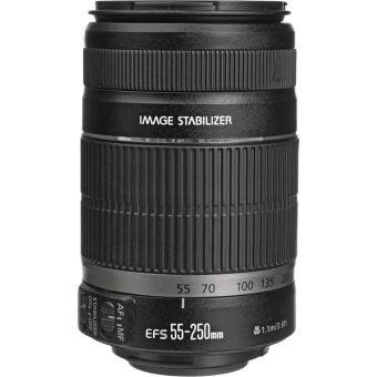Canon EF-S 55-250mm f/4-5.6 IS II Lens (Black)