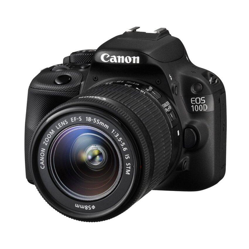 Canon EOS 100D + Lens 18-55mm (Black)
