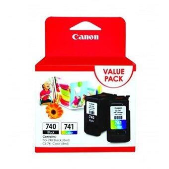 Harga CANON PG-740 (BLACK) + CL-741 COLOR TWIN PACK
