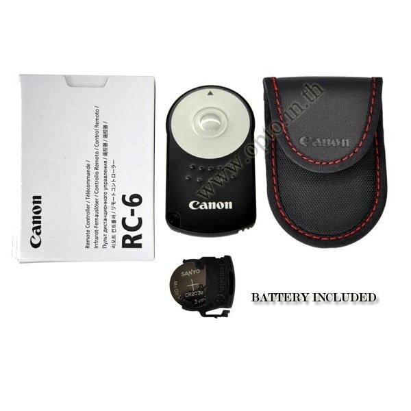 Canon RC-6 OEM IR Infrared Remoteรีโมทไร้สายแบบอินฟาเรดสำหรับกล้องแคนนอน