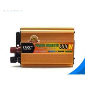 Car inverter 300W 12V 220V DC 12 v to AC 220 v vehicle power supplyswitch on-board charger inverter Adapter Converter - intl