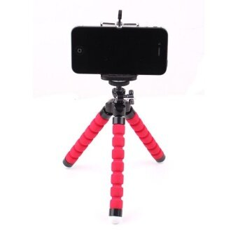Car Phone Holder Flexible Octopus Tripod Bracket Stand Mount Monopod Styling Accessories For Mobile Phone and Camera - intl