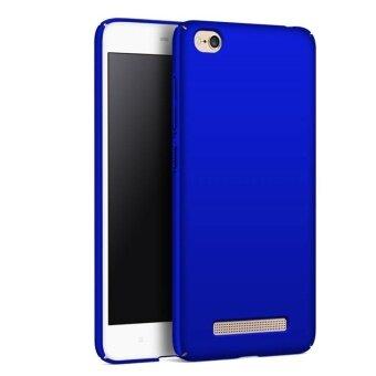 แนะนำ Case for Xiaomi Redmi 4A Ultra Thin Hard PC Back Case Smooth GripCover (Blue