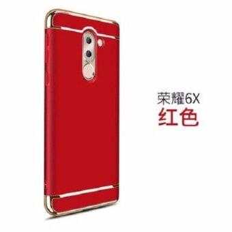 Case Huawei GR5 2017 เคสหัวเว่ย จีอาร์ห้า 2017 เคสหัวท้าย เคสกันกระแทก แบบไม่หนา สีเมทัลลิค หัว-ท้าย (เคสประกบ 3 ชิ้น)