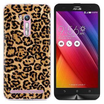 Cases for Asus Zenfone Go ZB551KL (5.5 inch) Smartphone - LeopardGrain Printing Pattern TPU Soft Cover Case - intl