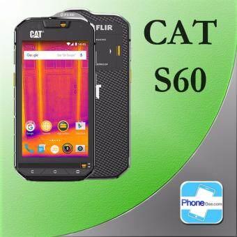 CAT S60 4.7\ 32GB -ประกันศูนย์ กล้องตรวจจับความร้อนกันน้ำกันกระแทกฟรี + ไม้เซลฟี่ + หูฟัง Bluethooth + ลำโพง + ขาตั้งเครื่อง + แก้วน้ำ