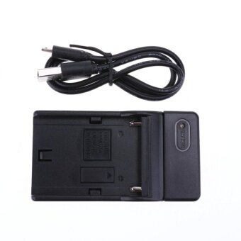 Charger for SONY Np-F550 F570 F750 F770 F960 F970 Camera (Black) -intl