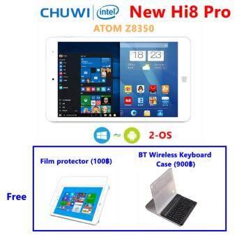 Chuwi ใหม่ Hi8 Pro 2-OS + บลูทูธคีย์บอร์ดเคส: Android 5.1+ WIN10 จอ 8 นิ้ว 1920x1200 Intel Z8350 1.92GHz มีช่อง HDMI/USB Type-C