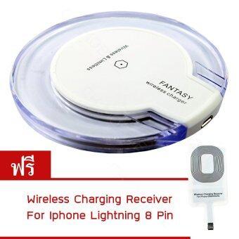 ต้องการขาย CK MOBILE fantasy Wireless Charger สำหรับ iPhone 5 ขึ้นไป (สีขาว)