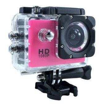 Ck Mobile Sport Action Camera 2.0 LCD Full HD 1080P No WiFi(สีชมพู)