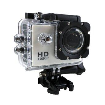 Ck Mobile Sport Action Camera 2.0 LCD Full HD 1080P No WiFi(สีขาว)