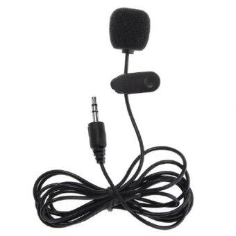 Clip-On Instrument Mic Microphone 3.5mm Plug for MP4 Cellphone Tablet