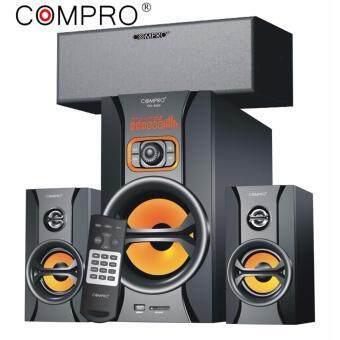 compro co-8500 ลำโพงซับวูฟเฟอร์ บลูทูธ ขนาด 3.1