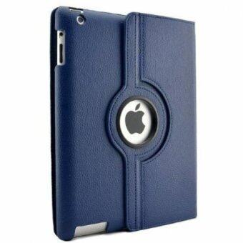 Harga Cool case เคสไอแพด iPad 2 3 4 Case 360-Style - Dark blue