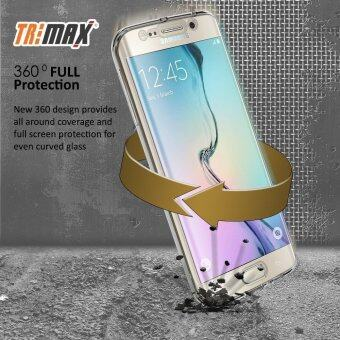 Crystal Clear Cover Full Body Protective Case for Samsung Galaxy S7Edge Cover (Transparent) - intl