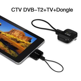 Harga CTV DVB-T2+TV+Dongle Pad TV HD stick receiver TV Receiver Stick forAndroid - intl