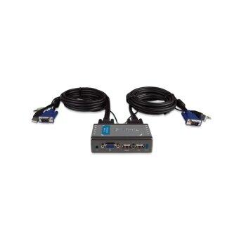 D-LINK 2-Port USB VGA KVM Switch with Audio Support KVM-221