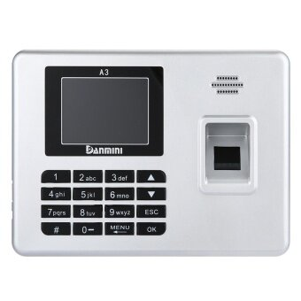 Danmini A3 Self-service Fingerprint Machine with Voice Prompt EUPlug(Silver)​ - intl