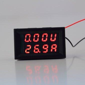 Dc 0-100v Voltmeter 10a Red Led Panel Amp Digital Volt GaugeDisplay