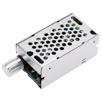 DC Brush Motor Speed PWM Controller Adjuster 12V/24V/36V/60V 8A 400W with Control Switch - intl