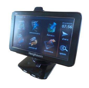 DeeQuick เครื่องรับสัญญาณ GPS 5 นิ้ว Touch Screen รุ่น 886Bluetooth - สีดำ