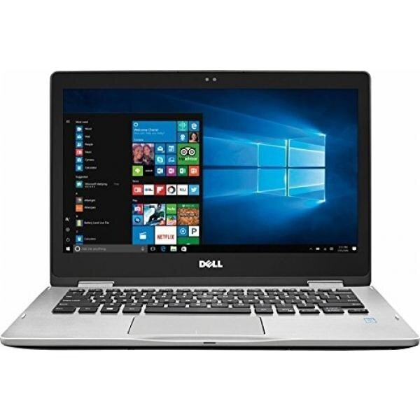 Dell Inspiron 2-in-1 Full HD (1920 x 1080) 13.3' Touchscreen Premium Laptop (2017 Newest), Intel Core i5-7200U, 8GB DDR4, 256GB SSD, 802.11AC, Bluetooth, USB Type C, HDMI, Silver, 0.7' thin