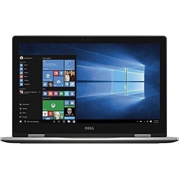 Dell Inspiron 7000 15.6' Convertible 2-in-1 Full HD (1920 x 1080) Touchscreen Premium Laptop, Intel Core i7-7500U, 12GB DDR4, 512GB SSD, Bluetooth, USB Type C, HDMI, 802.11AC - Gray - intl