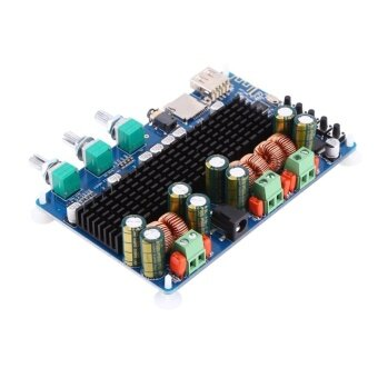Digital 2.1 Channel Amplifier Board Bluetooth USB TF Input 50W+50WStereo 100W Subwoofer Output - intl