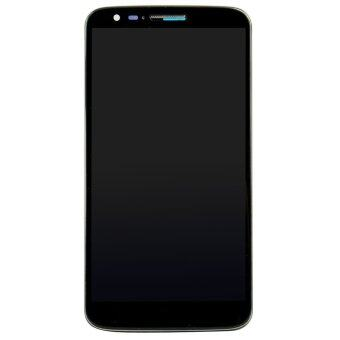 Digitizer LCD Display Frame for LG Optimus G2 D802 (Black)- - intl