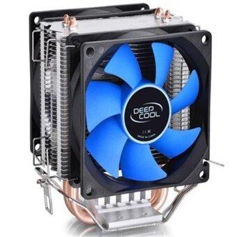 Double Fan CPU Cooler Fan Double Heatpipe Aluminum Heat Sink Cooling Fan Radiator For LGA1156/775/1150/1155/1151 - intl