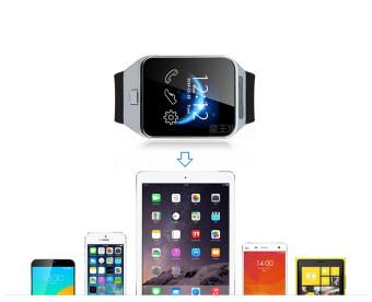 Dream นาฬิกาโทรศัพท์ Smart Watch รุ่น A9 Phone Watch (สีเงิน) ฟรีสาย USB (image 4)