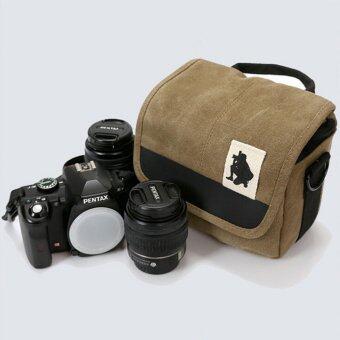 กระเป๋ากล้อง สะพาย ขนาดพกพกสะดวก ใช้ได้ทั้งกล้อง DSLR และ Mirrorless สำหรับ Canon, Nikon, Sony, Fujifilm