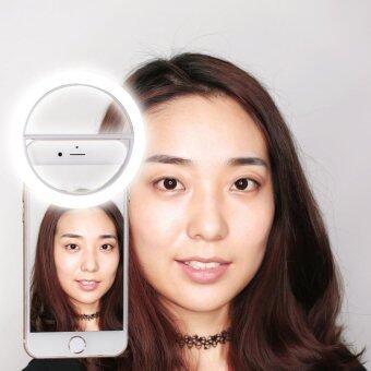 DT Selfie Ring Light RK-12 ไม่ต้องใส่ถ่าน ชาร์จไฟได้ (สีขาว) (image 3)