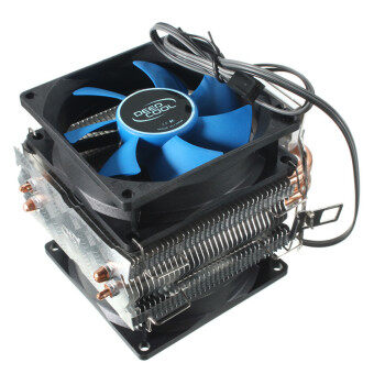 Harga Dual Fan CPU MIni Cooler Heatsink for Intel LGA775/1156/1155 AMDAM2/AM2+/AM3 - Intl