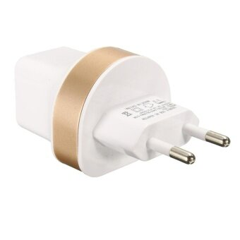 Dual USB 2.1A/1A Home Wall Power Charger Adapter For iphone Samsung ipod S3 S4