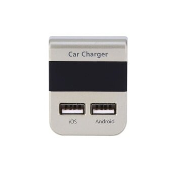 Dual USB Car Charger Multi Ports DC 5V 3.1A Professional PowerAdapter for iPhone Android