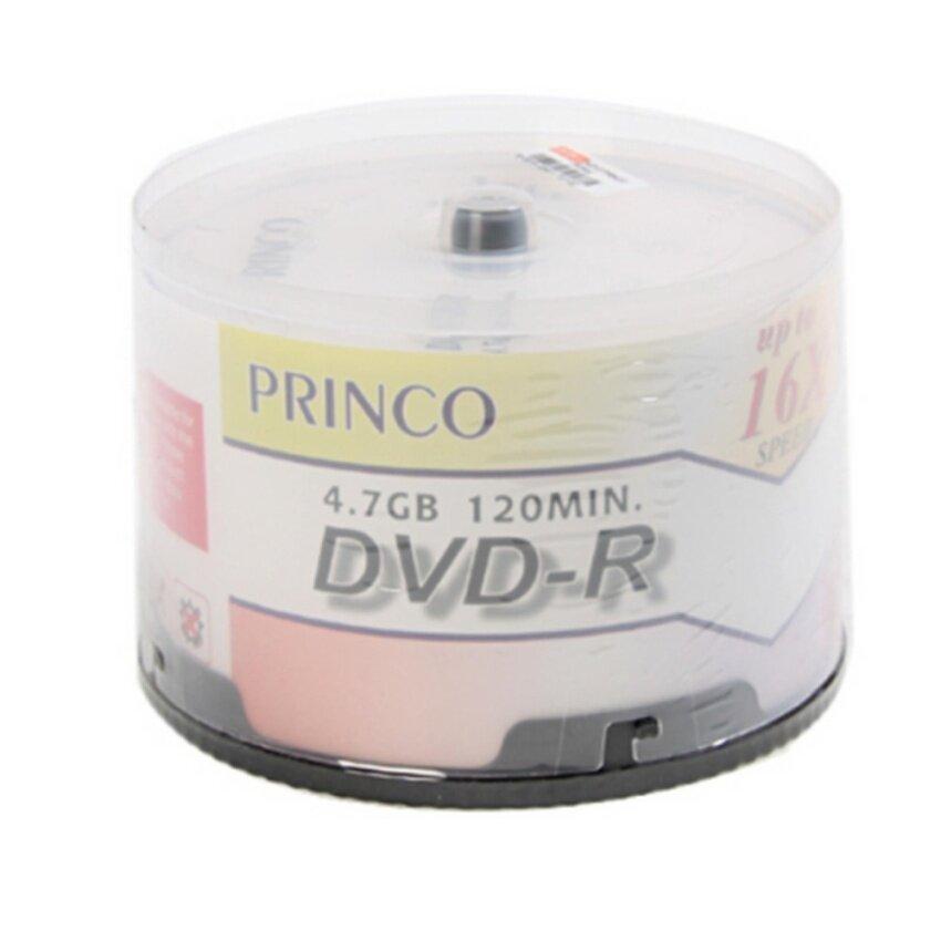 DVD-R 16X Princo 50 แผ่น