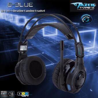 (ใส่โค้ดลดเพิ่มอีก 40%) E-blue หูฟังเกมมิ่ง Mazer Vibrating EHS 919 Headset Gaming (สีดำ)