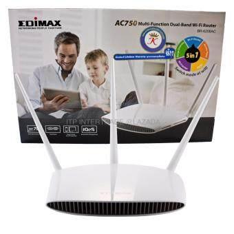 Edimax BR-6208AC AC750 Dual