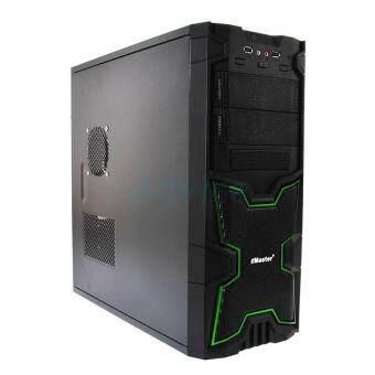 ประเทศไทย eMaster Computer case (NP) G13-BGN (Black-Green)