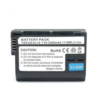 แบตเตอรี่ EN-EL15 2550mAh for Nikon Recharge battery pack