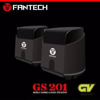 FANTECH Gaming Spearkers Stereo ลำโพงเกมมิ่ง สเตริโอ 2.1 รุ่น GS201 (สีดำ)