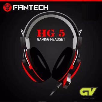 ซื้อ/ขาย FANTECH Stereo Headset for Gaming Adjust Volum หูฟังเกมมิ่ง แบบครอบหัว มีไมโครโฟน ระบบสเตริโอ SuperBass ปรับเสียงได้ รุ่น HG5 (สีแดง/ดำ)