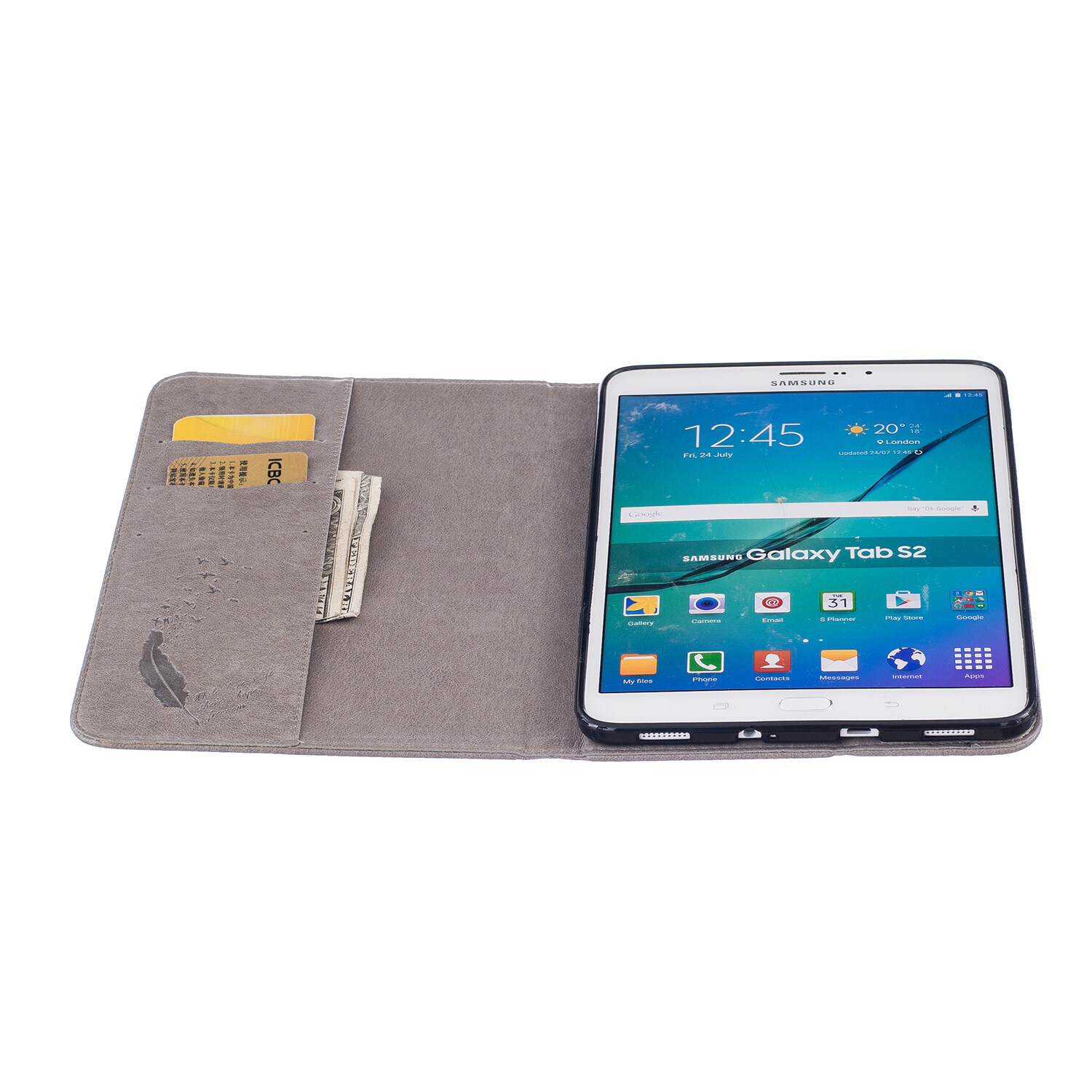 Pu Leather Flip Cover For Samsung Galaxy Tab A 80 Sm T350t355cp355 Case Book 2017 8 Inch T385 Feather Wallet Stand Galaxytab S2
