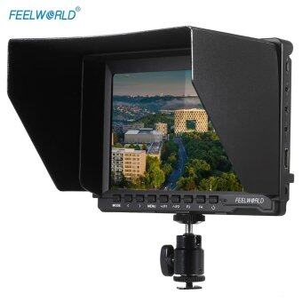 Feelworld FW74K Portable 7 Inch Ultra HD 1280 * 800 IPS LCD Screen Camera Monitor Supports 4K UHD 3840 * 2160p(29.97/25/23.98) with Buckle Plate for Panasonic GH4 for Sony A7S FS7 for BMPCC - intl