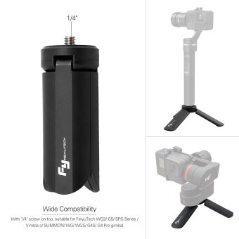 FeiyuTech Portable Foldable Time-Lapse Photography Bracket MiniGimbal Tripod for FeiyuTech WG2 G5 SPG Series Vimble c SUMMON WGWGS G4S G4 Pro Gimbal Outdoorfree^ - intl